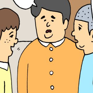 【4コマ漫画】かくれんぼ