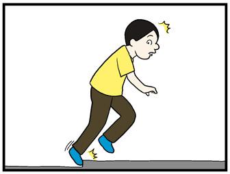 【4コマ漫画】手おくれ