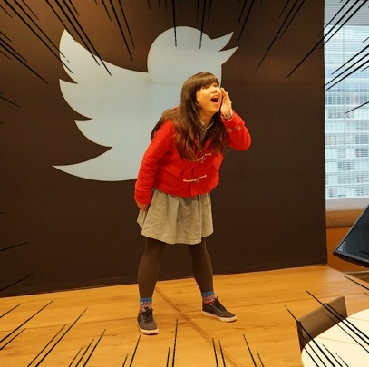 ウマさの3万RT!! Twitter社のすごい社食を女子大生が食べてきた