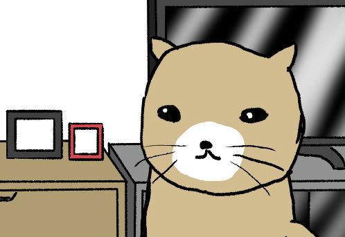 【4コマ漫画】チャーくん