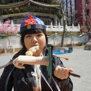 食べ盛りの女子大生が『中華街で食べ歩きがしやすくなるマシン』を作ってみた