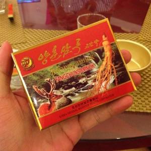 ベトナムで買った北朝鮮のバイアグラを飲む。