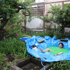 簡単激安!1万円で自宅に露天風呂を作る方法