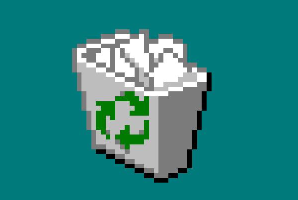 Windows95のごみ箱を実際に作ってみたら何かよくわからないものが出来た