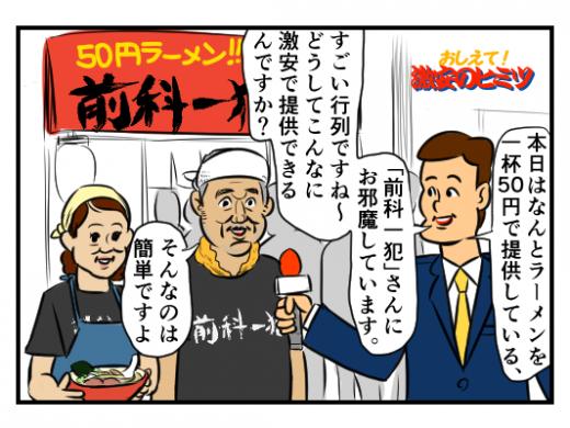 【4コマ漫画】激安の秘密