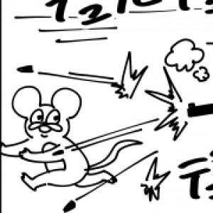 【4コマ漫画】油断