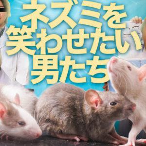どうしてもネズミを笑わせたい男達